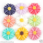 New 24 Resin Chrysanthemum Flower Flat Back Cabochons 13x4mm to choose