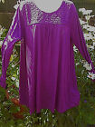 Ex-Evans Broderie Anglaise Tunic Top,Sizes 14-16/18-20/22-24/26-28 NEW
