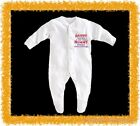BabyGro /Sleepsuit Boy/Girl/Unisex- Daddy knows a lot but mummy knows everything