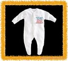 BabyGro / Sleepsuit Boy/Girl/Unisex  - never mind the milk where are the cookies