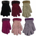 G55 BOUTIQUE DESIGNER RANGE FEATHER TOUCH COSY SOFT CUTE GLOVE WITH FUNKY CUFF