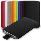 12 COLOURS PU LEATHER POUCH CASE COVER SLEEVE FOR APPLE iPOD TOUCH 5 5G 5TH GEN