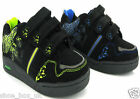 New Boys kids black Velcro casual school Trainers Shoes Sizes 8-2 UK RRP £14.99