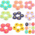 Wholesale 60pcs Flower Mum Resin Flatback Cabochons Scrapbook Album 13mm