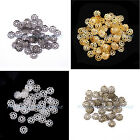Wholesale 500pcs metal flower bead caps 6mm Vintage Jewelry beads findings