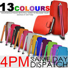 Premium PU Leather Pull Tab Case Cover Skin For Apple iPod 5th Gen + Stylus Pen