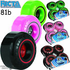 "RICTA ""Speedrings"" Skateboard Wheels Pink Green Red Street Formula 52-54mm Hard"