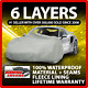 Toyota Corolla 6 Layer Car Cover Fitted Water Proof Outdoor Rain Snow Sun Dust