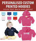 Personalised Baby and Toddler Hoodies - *Great gift* - Add your own text!