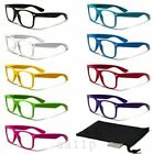 Unisex Sexy Fashion Style Cool Clear Lens Frame Wayfarer Sport Nerd Sun Glasses