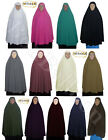 "knee Length Long Khimar 50"" Hijab Niqaab Abaya Veil Jilbab Islam Under Scarf 368"