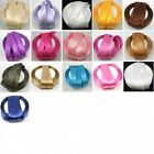 23 METRES/25 YARDS 20mm SATIN RIBBON 16 COLOURS CRAFTS CARDMAKING WEDDING INVITE
