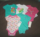 Infant Girls PUMA One Piece Bodysuits TShirt Set of 5 Sizes  3-6M 6-9M NWT