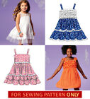 SEWING PATTERN! MAKE BOUTIQUE STYLE DRESS! CHILD 3 TO GIRL 14! SUMMER CLOTHES