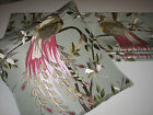 NEW Nina Campbell Paradiso Embroidered Silk Fabric Roman Blind 1 - VARIOUS SIZES