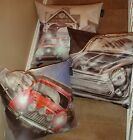 "Mini Cooper & Vespa Design 24""x24"" cushion cover Faux Suede Lots Of Designs"