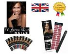 Myleene Klass Nails 24 wraps,with Nail Grit File.24 Different Designs.Finger/Toe