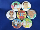 King of The Hill set of 7 New all different pinbacks buttons pin badges NEAT
