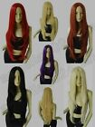 9 Color Heat Resistant 32 in. No Bangs Wavy 80cm Cosplay Wigs Free Shipping 72A