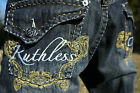 NEW AUTHENTIC MEN'S RUTHLESS ART JEANS SIZE 34 UP TO 42