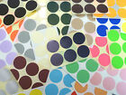 33mm Round Colour Code dot Stickers Coloured Circles Sticky Adhesive spot Labels