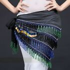 SH100# Egypt Fringe Belly Dance Hip Scarf Belt 4 Types / Colors