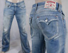 True Religion Jeans Men's Billy bootcut light wash classic Hasting pass MJA858OM