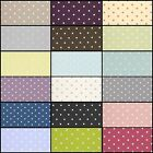 Clarke and Clarke Dotty Designer Curtain Upholstery Fabric 18 colours