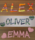 LOVELY FABRIC BABY LETTERS for NURSERY / ONLY 1.50 per LETTER