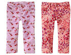 NW BABY GAP ColorPop Floral 5 Pocket Mini Skinny Denim Jeans Pants Purple Pink