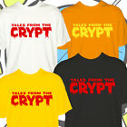 Retro Comic Tshirt Mens Horror Tales From The Crypt Keeper T Shirt New Lads Top