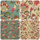 ☆SMD Linden Flower And Bird Designer Curtain Upholstery Fabric Roll £9.99☆
