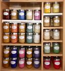 Assorted Manly Scents ~ Soy Wax Candle ~ 8oz Jelly Jar