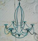 Wrought Iron Tamera Candle Light Chandelier Candelabra