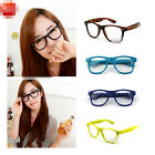 Fashion Retro Vintage Unisex Clear Lens Wayfarer Nerd Geek Glasses 12 Colors YJ1