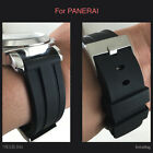22MM 24MM 26MM HQ PU RUBBER DIVER WATCH BAND 22 24 26 MM STRAP FOR PANERAI