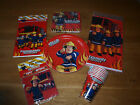 "Fireman Sam Birthday Party Items ""All under one listing"""