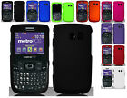 Any Rubber Solid Hard Case -Samsung Freeform 2 II/Straight Talk SCH-R375C Phone
