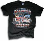 Hot Rod T Bucket Roadster Ford Garage Drag Racing Est 1923 Mens T Shirt Sm- 3XL