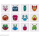 Childrens Temporary Monster Tattoos FREE DELIVERY