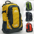 Good Men women outdoor travel hiking school backpack Waterproof 40L Rucksack bag