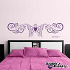 bedrooms with teal walls - Butterfly with Hearts Vinyl Wall Decal bedroom home decor art design love B068