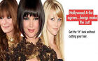 100% Remy Human Hair Clip In Bangs - Full Face Framing Fringe - All colors!