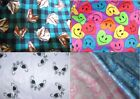 Various Fleece Items - Stuffed Cushions & Cushion Covers