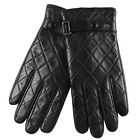 New WARMEN Men's KID GENUINE NAPPA Leather warm winter Driving MOTORCYCLE gloves