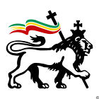 Lion of Judah with Rasta Flag Vinyl Wall Decal reggae Bob Marley sticker K157-W