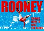 Rooney - OVERHEAD KICK - UNT v CITY - BEAT THE BLUES -DUOTONE - A3 poster