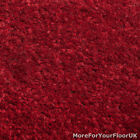 5 Metre Wide Carpet, Red Quality Feltback Twist, Lounge Bedroom Five M Roll