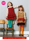 SEWING PATTERN! MAKE GIRLS JUMPERS~BLOUSES~SHIRTS! SIZES TODDLER 2 TO CHILD 8!