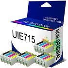 16 NON-OEM INK CARTRIDGES FOR STYLUS PRINTER REPLACE T0711 - T0714 T0715